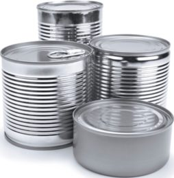 Different types of cans