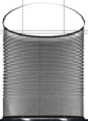 X-ray of Can with no lid
